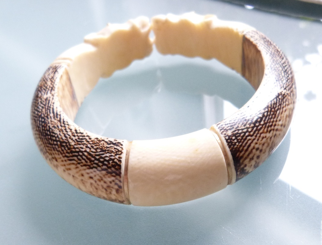 garbage tusk img things i find ivory bangles in bone or neither the